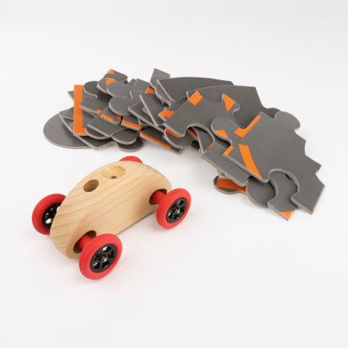 Finger Car Natur mit Puzzle Set