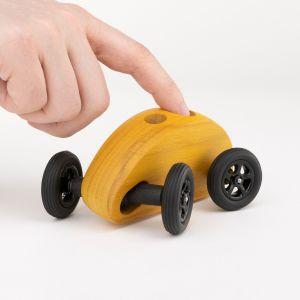 Finger Car Gelb