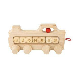 Lokomotive mit individueller Beschriftung